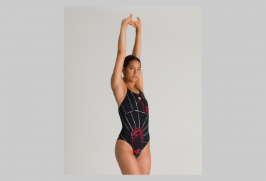 ARENA Woman Arena One Impressions Swim Pro One Piece Black Multi