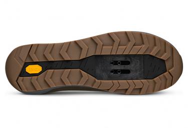 Pair of Fizik Terra Ergolace X2 MTB Shoes Black / Blue