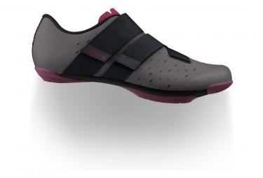 Paire de Chaussures Gravel Fizik Terra Powerstrap X4 Anthracite/Grape