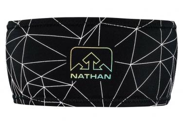 NATHAN HyperNight Reflective Headband Galaxy Nova Black