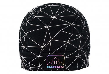NATHAN PE20 HyperNight Reflective Beanie Galaxy Nova Black_U