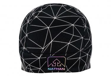 NATHAN HyperNight Reflective Beanie Galaxy Nova Black