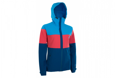 Chaqueta Ion Softshell Para Mujer Shelter Blue   Red Xl