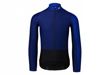 Poc Essential Road Mid Long Sleeve Jersey Azurite Multi Blue