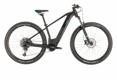 Cube Hardtail Electric Women Bike Access Hybrid Ex 500 29 Sram SX Eagle 12s Black / Blue 2023