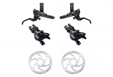 Brake pair Shimano XT M8100 Resine J-Kit 95cm 165cm With Shimano Disc Brake SM-RT66 180 mm - 160 mm