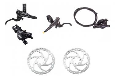 Pair of Brakes Shimano XT M8100 Resine J-Kit 95cm 165cm Black Whith Shimano Disc Brake SM-RT66 Argent 160mm 180mm