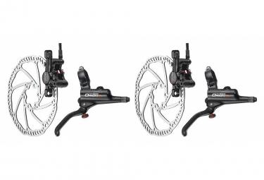 Tektro Pair of Brakes Hydraulic Disc Brake Orion HD-M740 Black