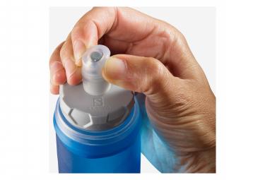 Bouteille à main Salomon Soft Flask 500 ml Bleu