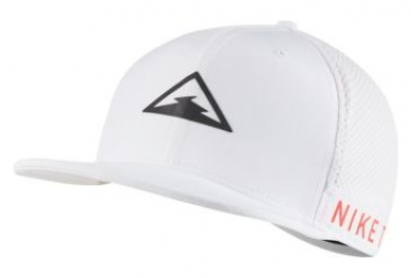 Nike Dri-Fit Pro Trail Cap White Black