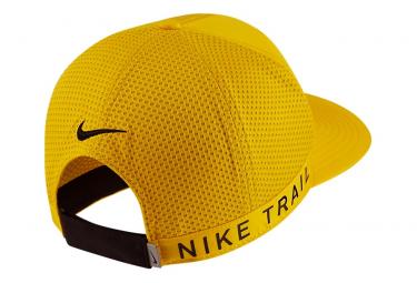 Nike Dri-Fit Pro Trail Gorra Amarillo Negro