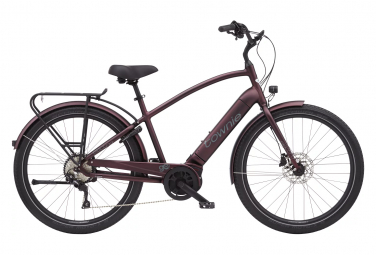 Bicicleta Ciudad Mujer Electra Townie Path Go Rouge