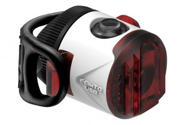 Iluminación trasera Lezyne Femto USB Drive White
