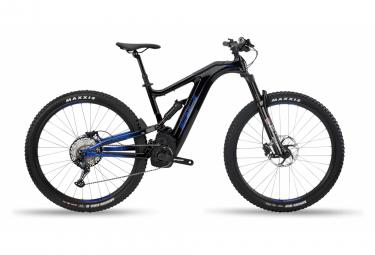 VTT Tout Suspendu Electrique BH Atom-X Carbon Lynx 5.5 Pro Shimano SLX 12v Noir / Bleu 2020