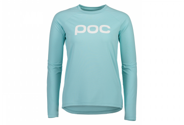 Poc Essential MTB Women Long Sleeve Jersey Light Kalkopyrit Blue