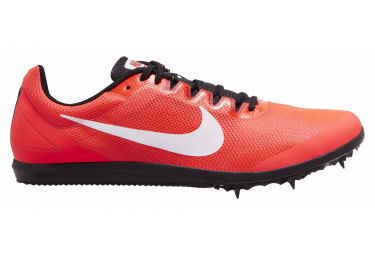 Chaussures d'Athlétisme Nike Zoom Rival D10 Rouge