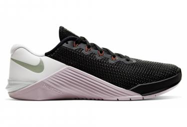 Chaussures de Cross Training Femme Nike Metcon 5 Noir / Rose