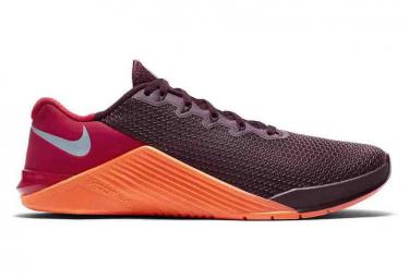 Chaussures de Cross Training Nike Metcon 5 Rouge / Orange