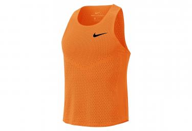 Tank Nike Aeroswift Orange Men