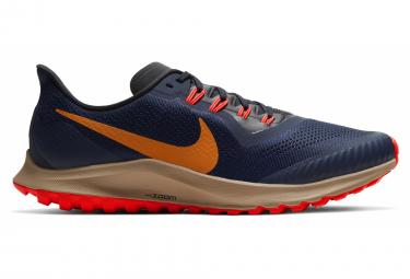 Zapatillas Nike Air Zoom Pegasus 36 Trail para Hombre Azul / Naranja