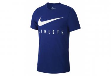 Short Sleeves Jersey Nike Dri-Fit Athlete Blue White Men