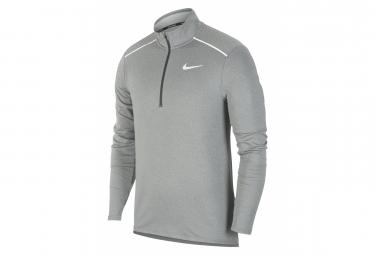 Haut manches longues 1/2 Zip Nike Element 3.0 Grey Men
