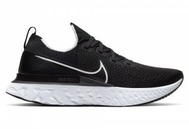 Nike React Infinity Run Flyknit Black White Men