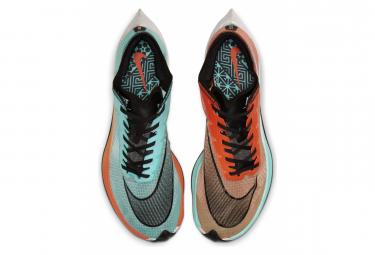 Nike ZoomX Vaporfly Next% Blue Orange Unisex