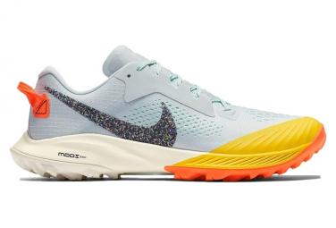 Nike Air Zoom Terra Kiger 6 Blue Green Yellow Women
