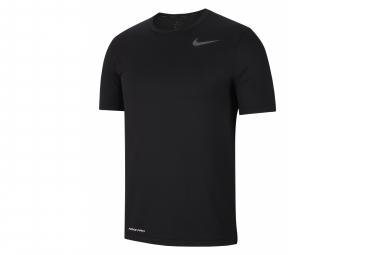 Short Sleeves Jersey Nike Pro Training Black Men