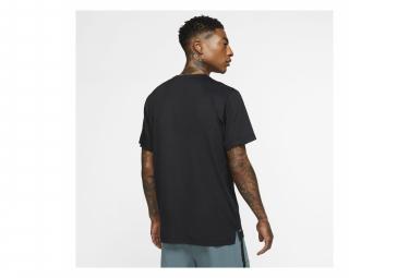 Maillot Manches Courtes Nike Pro Training Noir Homme