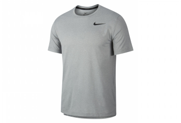 Maillot Manches Courtes Nike Pro Training Gris Homme