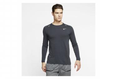 Maillot Manches Longues Nike TechKnit Ultra Noir Homme