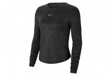 Long Sleeves Jersey Nike Dri-Fit Grey Women