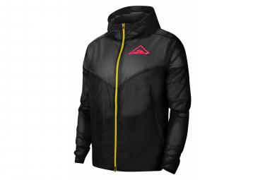 Windproof Jacket Nike Windrunner Trail Black Pink Men