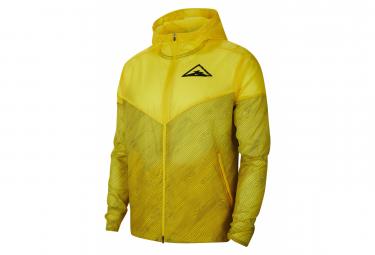 Windproof Jacket Nike Windrunner Trail Yellow