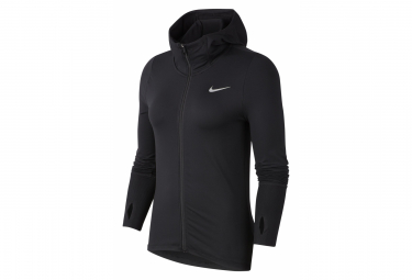 Hoodie Nike Element Black Women