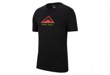 Short Sleeves T-Shirt Nike Dri-Fit Trail Black Men