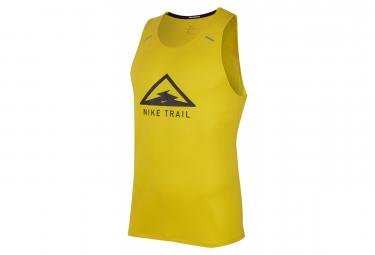 Tank Nike Rise 365 Trail Yellow Black Men
