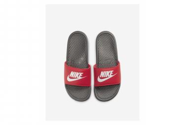 Claquettes Nike Benassi Gris / Rouge