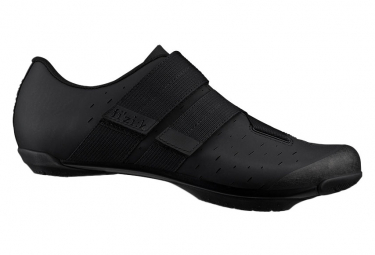 Pair of Fizik Terra Powerstrap X4 MTB Shoes Black