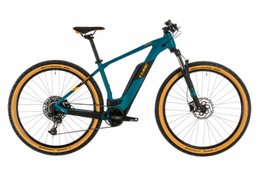 MTB Eléctrica Semi Rígida Cube Reaction Hybrid Pro 500 27.5'' Bleu / Orange 2020