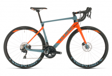 Cube Agree C:62 Race High Road Bike Shimano Ultegra 11s Blue / Orange 2020