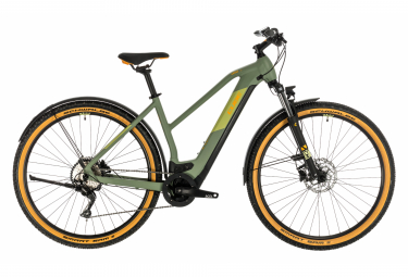Cube Cross Hybrid Pro 625 Allroad Hybrid Bike Vert / Orange