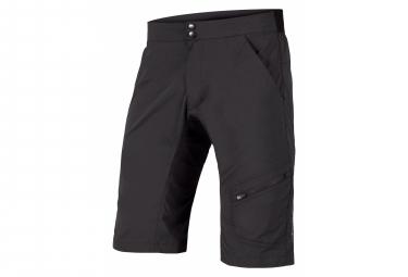 Shorts de piel Endura HummVee Lite con shorts negros