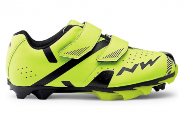 Northwave Hammer 2 Junior Kids MTB Shoes Fluo Yellow / Black