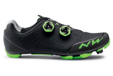 Zapatillas Northwave Rebel 2 Noir / Vert / Fluo