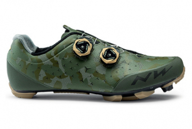 Zapatillas Northwave Rebel 2 Camouflage / Vert