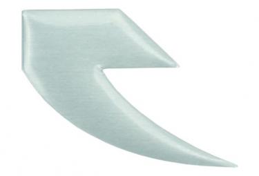 Image of Badge tall order logo alu flat polished