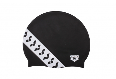 Arena Team Stripe Cap Black White
